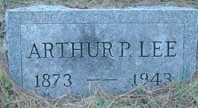 LEE, ARTHUR P. - Delaware County, Iowa | ARTHUR P. LEE