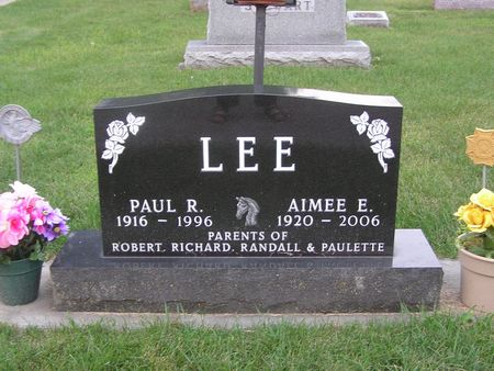 LEE, AIMEE E. - Delaware County, Iowa | AIMEE E. LEE