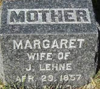 COOK LEHNE, MARGARET - Delaware County, Iowa | MARGARET COOK LEHNE