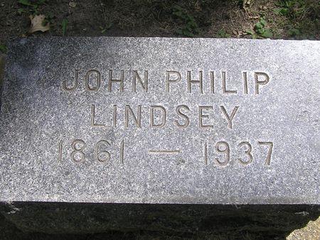 LINDSEY, JOHN PHILIP - Delaware County, Iowa | JOHN PHILIP LINDSEY