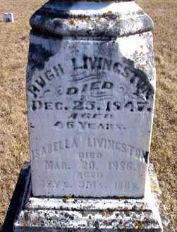 LIVINGSTON, HUGH - Delaware County, Iowa   HUGH LIVINGSTON