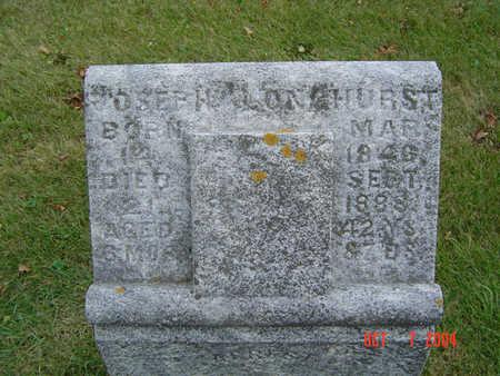 LONGHURST, JOSEPH - Delaware County, Iowa   JOSEPH LONGHURST