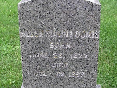 LOOMIS, ALLEN RUBIN - Delaware County, Iowa   ALLEN RUBIN LOOMIS