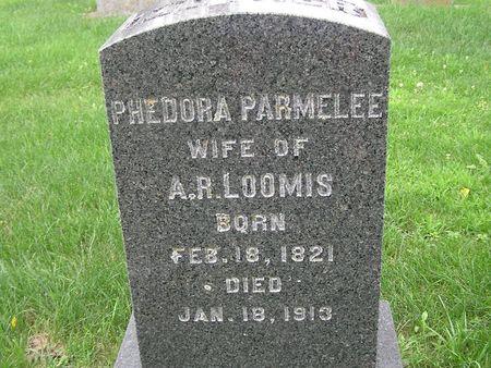 LOOMIS, PHEDORA - Delaware County, Iowa | PHEDORA LOOMIS