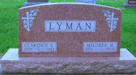 LYMAN, CLARENCE E. - Delaware County, Iowa | CLARENCE E. LYMAN