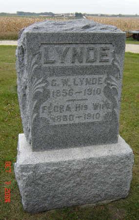 LYNDE, FLORA - Delaware County, Iowa | FLORA LYNDE