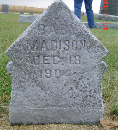 MADISON, BABY - Delaware County, Iowa | BABY MADISON