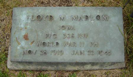 MADLOM, FLOYD M. - Delaware County, Iowa | FLOYD M. MADLOM