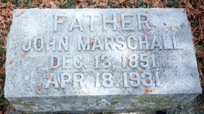 MARSCHALL, JOHN - Delaware County, Iowa | JOHN MARSCHALL