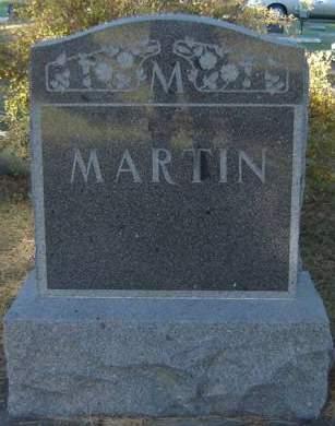 MARTIN, FAMILY STONE - Delaware County, Iowa   FAMILY STONE MARTIN