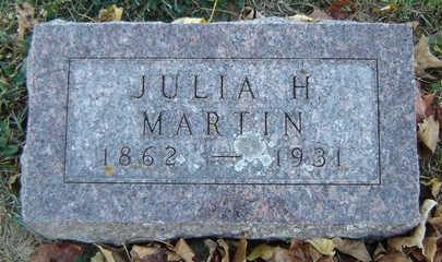 MARTIN, JULIA H. - Delaware County, Iowa | JULIA H. MARTIN