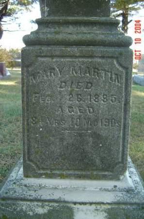 MARTIN, MARY - Delaware County, Iowa | MARY MARTIN