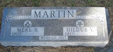 MARTIN, MERL B. - Delaware County, Iowa   MERL B. MARTIN