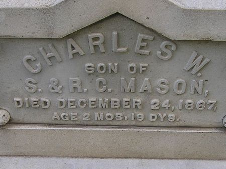 MASON, CHARLES W. - Delaware County, Iowa | CHARLES W. MASON