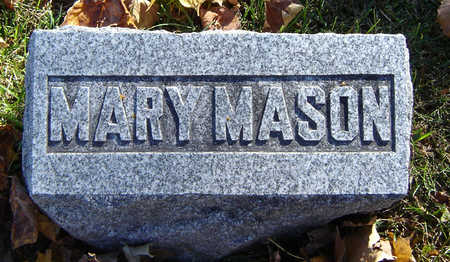 MASON, MARY - Delaware County, Iowa | MARY MASON