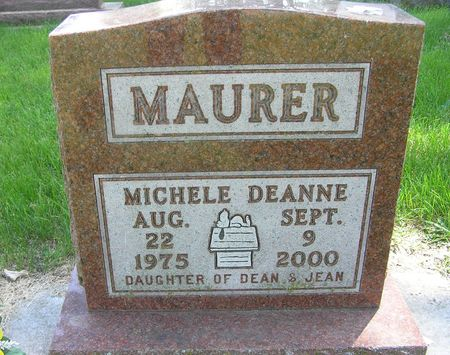 MAURER, MICHELE DEANNE - Delaware County, Iowa | MICHELE DEANNE MAURER