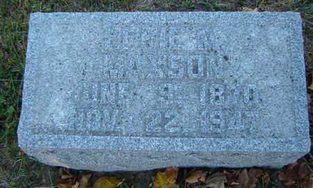 MAXSON, EFFIE M. - Delaware County, Iowa | EFFIE M. MAXSON
