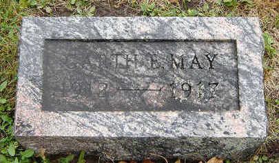 MAY, GARTH E. - Delaware County, Iowa | GARTH E. MAY