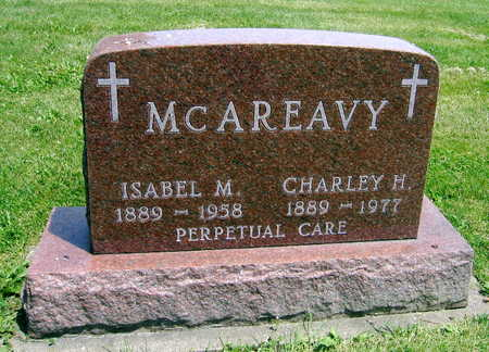 MCAREAVY, ISABEL M. - Delaware County, Iowa | ISABEL M. MCAREAVY