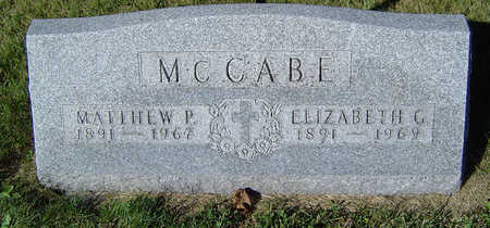 MCCABE, ELIZABETH G. - Delaware County, Iowa | ELIZABETH G. MCCABE
