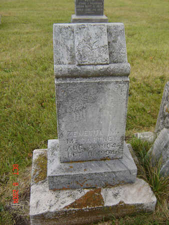 MCCARTNEY, ZENETTA M. - Delaware County, Iowa | ZENETTA M. MCCARTNEY