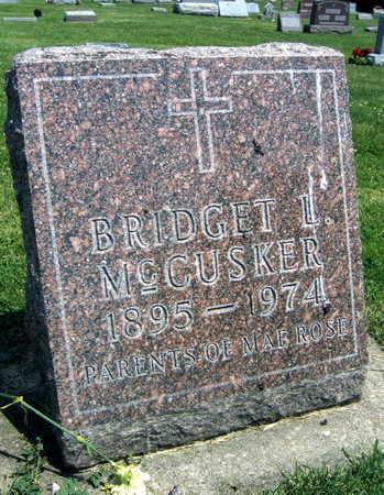 MCCUSKER, BRIDGET L. - Delaware County, Iowa   BRIDGET L. MCCUSKER