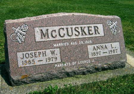 MCCUSKER, JOSEPH W. - Delaware County, Iowa | JOSEPH W. MCCUSKER