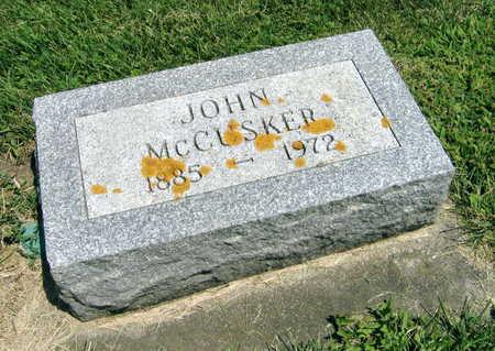 MCCUSKER, JOHN - Delaware County, Iowa | JOHN MCCUSKER