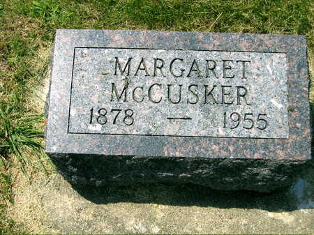 MCCUSKER, MARGARET - Delaware County, Iowa   MARGARET MCCUSKER