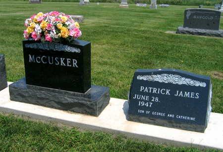 MCCUSKER, PATRICK JAMES - Delaware County, Iowa | PATRICK JAMES MCCUSKER
