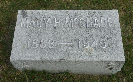 MCGLADE, MARY H. - Delaware County, Iowa | MARY H. MCGLADE