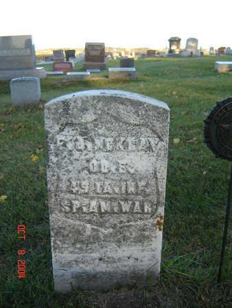 MCKRAY, FRANKLIN JAMES - Delaware County, Iowa | FRANKLIN JAMES MCKRAY