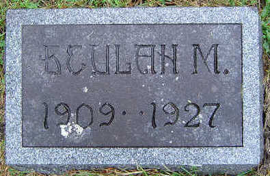 MCMONIGAL, BEULAH M. - Delaware County, Iowa | BEULAH M. MCMONIGAL