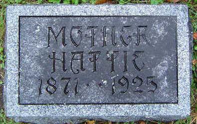MCMONIGAL, HATTIE - Delaware County, Iowa | HATTIE MCMONIGAL