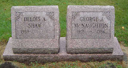 MCNAUGHTON, GEORGE J. - Delaware County, Iowa | GEORGE J. MCNAUGHTON