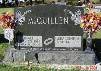 MCQUILLEN, GERALDINE M. - Delaware County, Iowa | GERALDINE M. MCQUILLEN