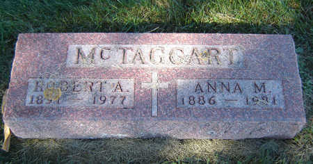 MCTAGGART, ANNA M. - Delaware County, Iowa | ANNA M. MCTAGGART