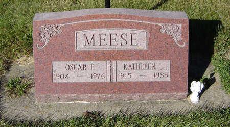 MEESE, OSCAR F. - Delaware County, Iowa | OSCAR F. MEESE