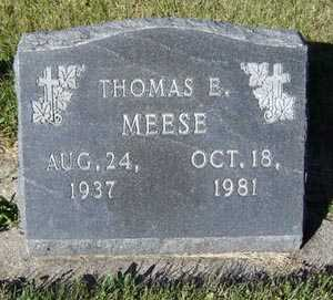 MEESE, THOMAS E. - Delaware County, Iowa | THOMAS E. MEESE