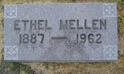 PLATT MELLEN, ETHEL BASSET - Delaware County, Iowa | ETHEL BASSET PLATT MELLEN