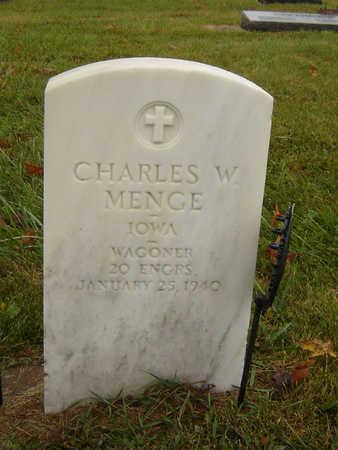 MENGE, CHARLES W. - Delaware County, Iowa | CHARLES W. MENGE
