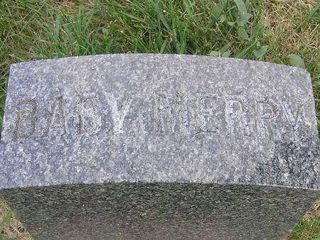 MERRY, BABY - Delaware County, Iowa   BABY MERRY
