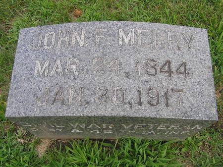 MERRY, JOHN - Delaware County, Iowa | JOHN MERRY