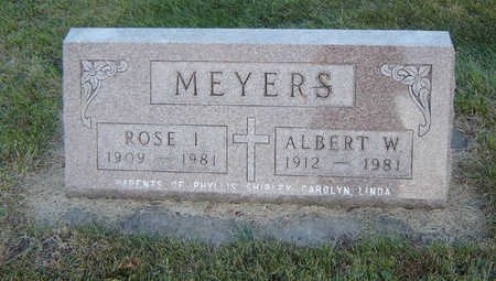 BISSELL MEYERS, ROSE I. - Delaware County, Iowa | ROSE I. BISSELL MEYERS