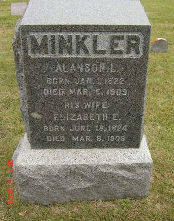 MINKLER, ELIZABETH E. - Delaware County, Iowa | ELIZABETH E. MINKLER