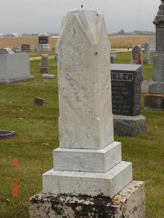 MINKLER, FAMILY STONE - Delaware County, Iowa   FAMILY STONE MINKLER
