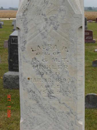 MINKLER, LAURA R. - Delaware County, Iowa   LAURA R. MINKLER