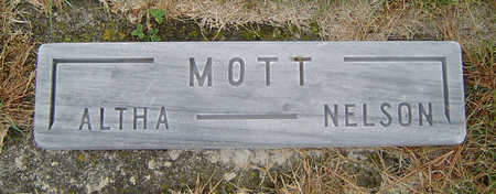 MOTT, ALTHA - Delaware County, Iowa | ALTHA MOTT