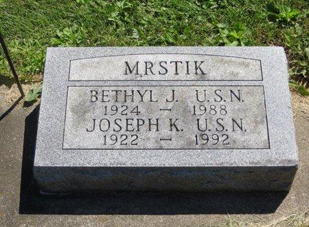 MRSTIK, JOSEPH K. - Delaware County, Iowa | JOSEPH K. MRSTIK