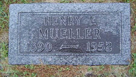 MUELLER, HENRY F. - Delaware County, Iowa | HENRY F. MUELLER